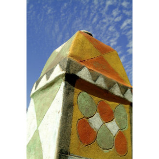 Sudan, North (Nubia), Decorated roof