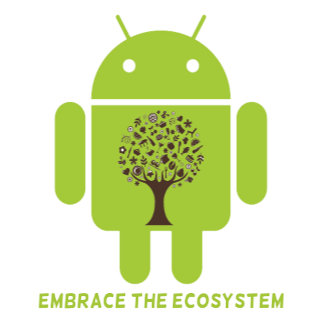 Embrace The Ecosystem (Bug Droid Developer Humor)