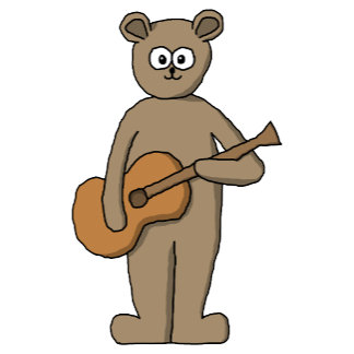 Guitarist Bear.