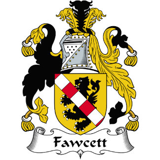Fawcett Family Crest / Coat of Arms