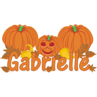 Pumpkin Gabrielle Personalized Halloween