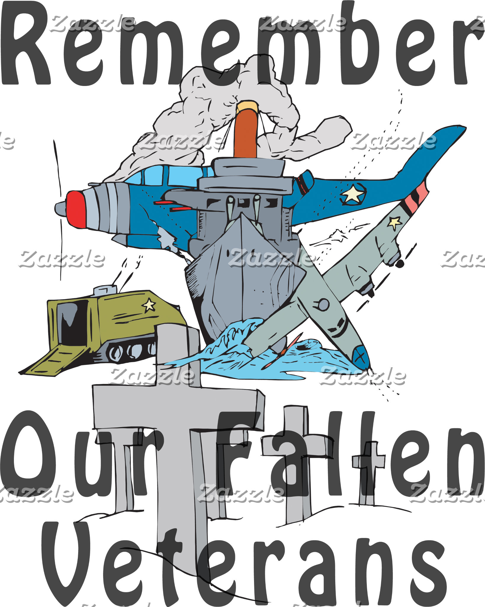 Remember Veteran's Day T-Shirts Gift Cards