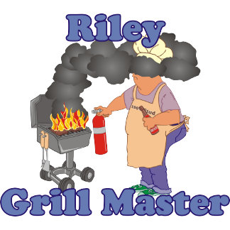 Personalized Riley Grill Master