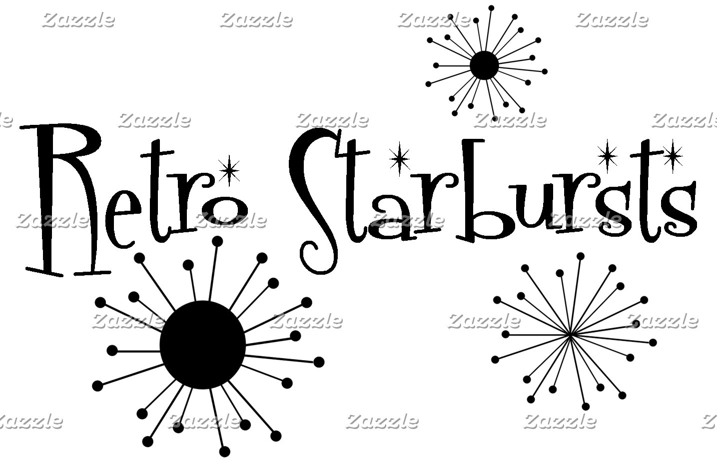 Retro Starbursts