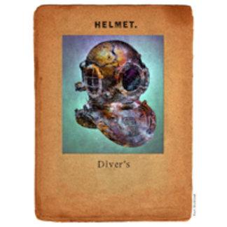 Steampunk Diver's Helmet