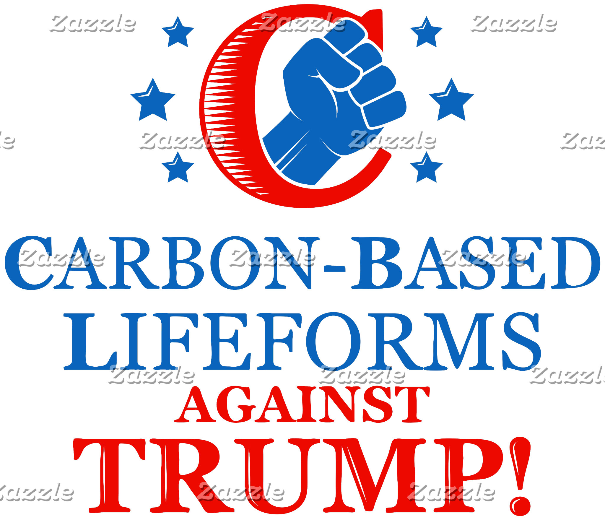Carbon-Based Lifeforms Against Trump