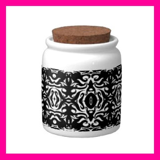 Jars - Mini Candy Jars hold 10 oz. of Goodies!