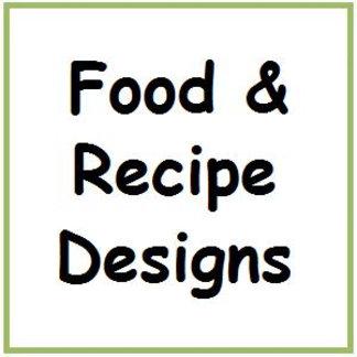 Food & Recipe Designs