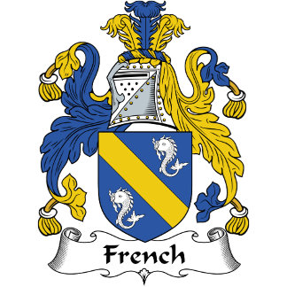 French Family Crest / Coat of Arms