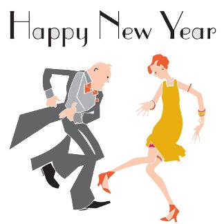 New Years Dancers