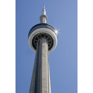 Canada, Ontario, Toronto. Top of CN Tower with