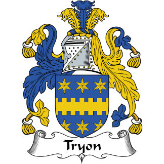 Tryon Family Crest