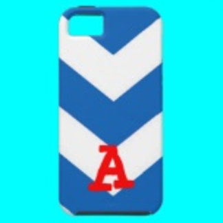 Blue and White Phone Cases