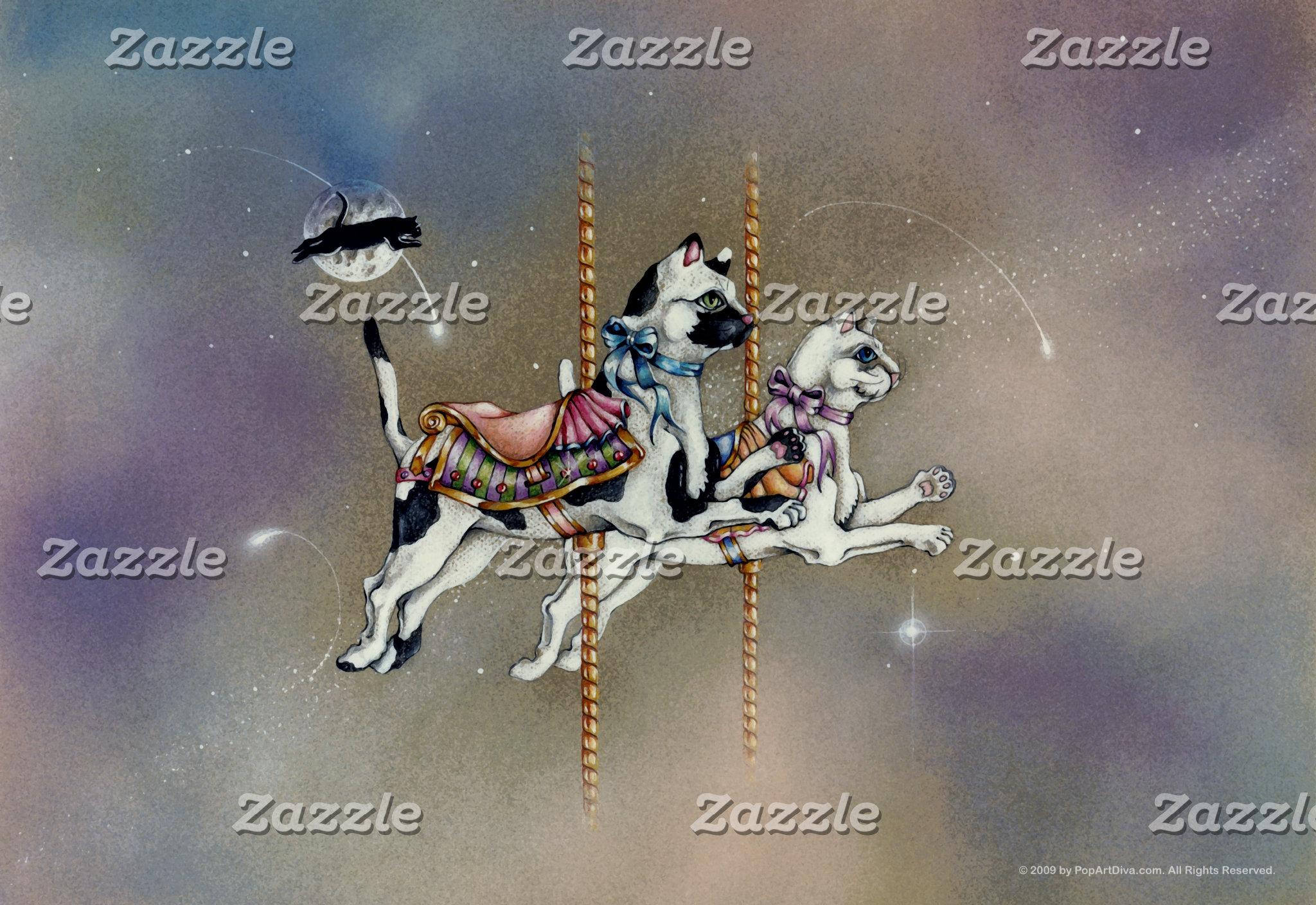 Carousel Cats