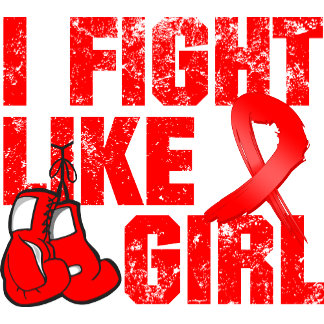 Blood Cancer I Fight Like A Girl (Grunge)