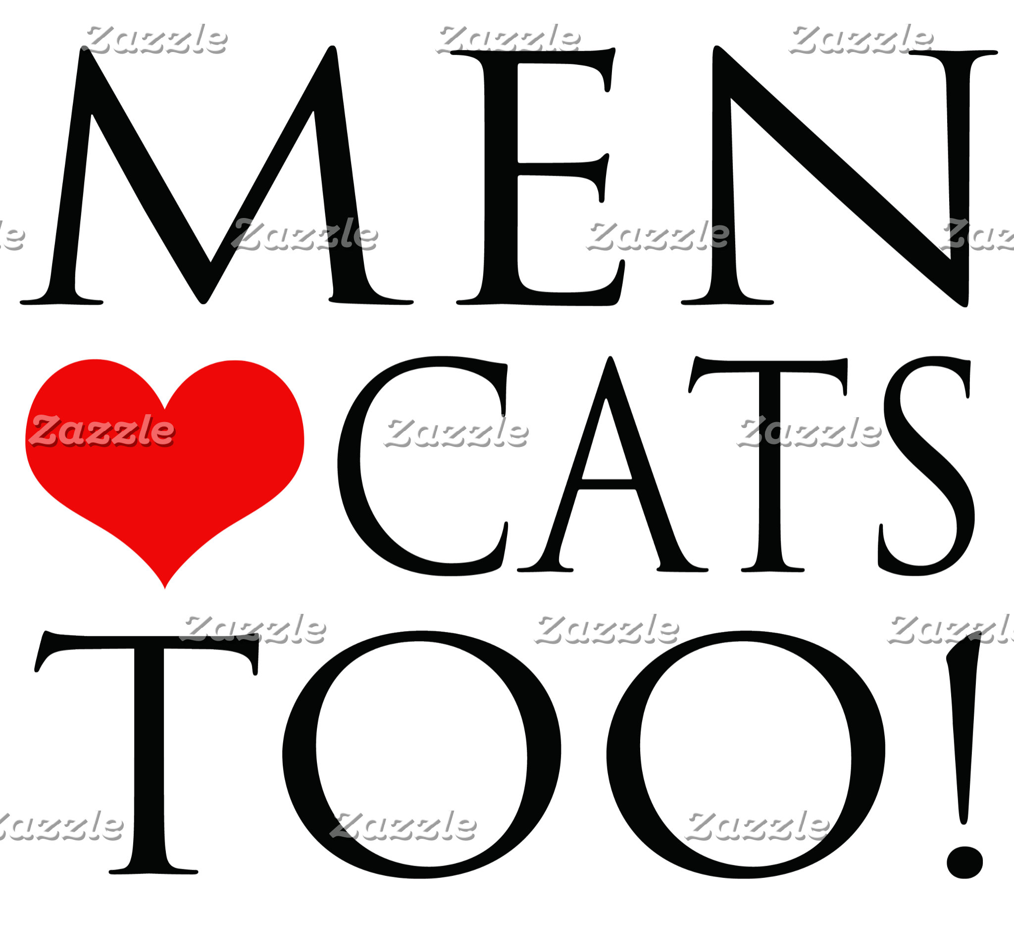 Men Love Cats Too!