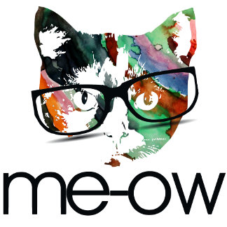Meow hipster kitty