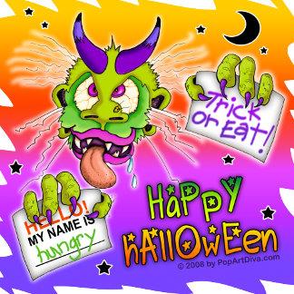 Halloween Boogeyman Monster