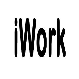 iwork design black text