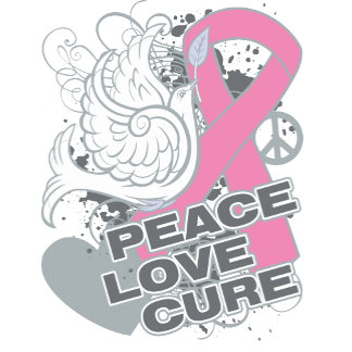 Breast Cancer Peace Love Cure