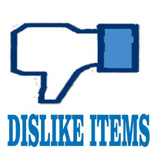 Dislike, RACISM SUCKS, & Phobia shirts