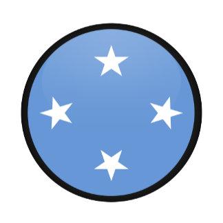 Micronesia quality Flag Circle