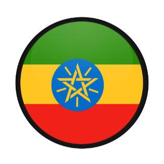 Ethiopia quality Flag Circle