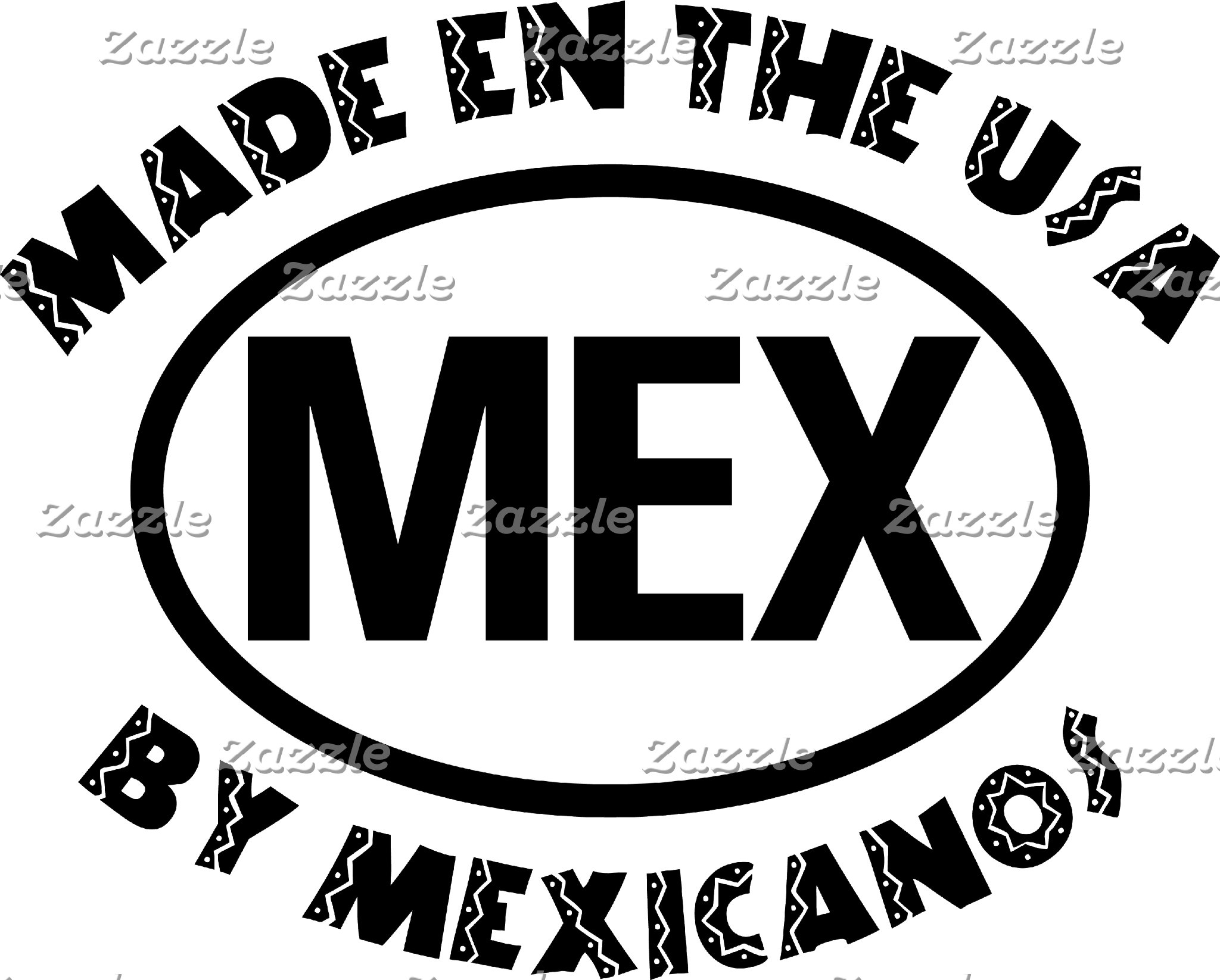 Made In The USA By Mexicano T-Shirt Gift Cards
