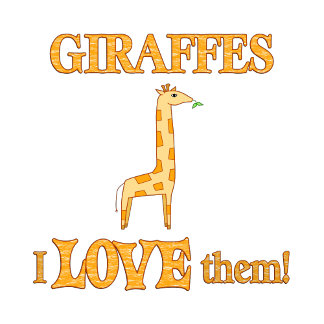 Giraffes Love Them