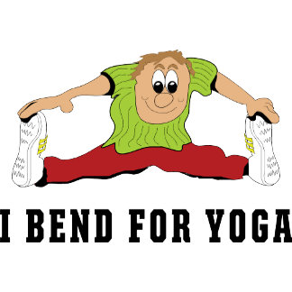 Funny I Bend For Yoga T-Shirts