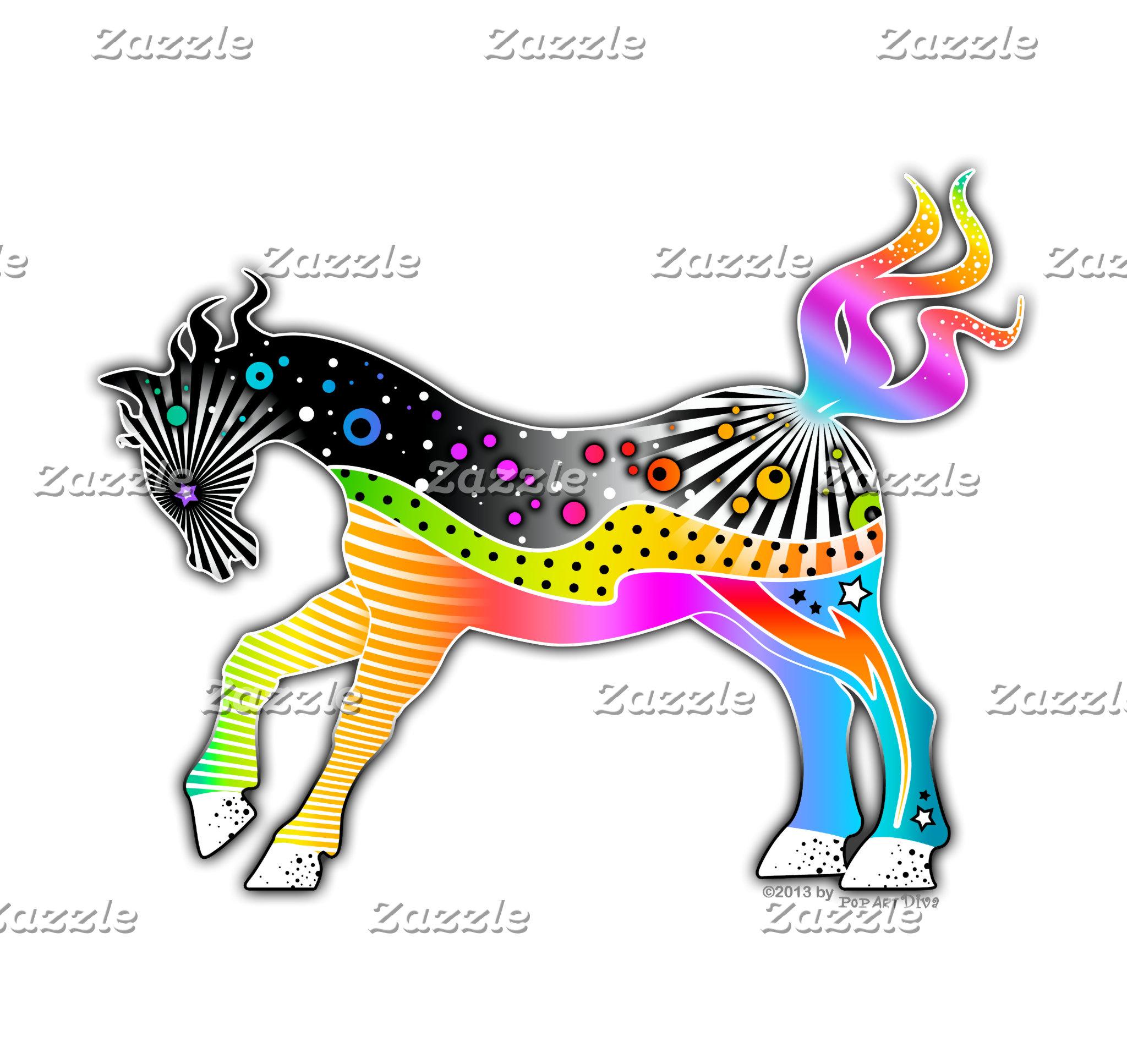 c5. HORSE POP ART