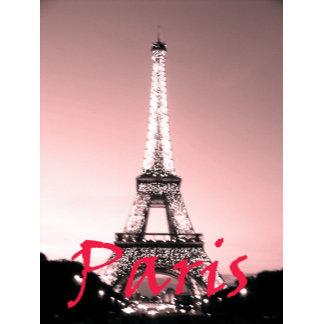 Paris Eiffel Tower Pink