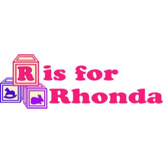 Baby Blocks Rhonda