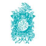 cuckoo clock turquoise.tif