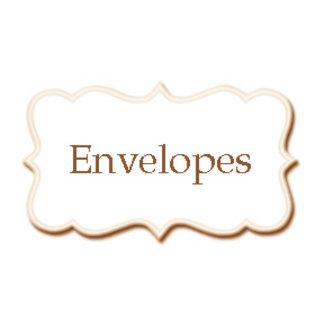•Envelopes