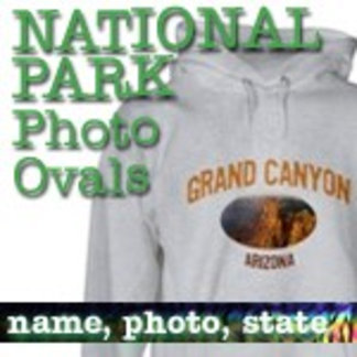 Photo Oval National Park T-Shirts