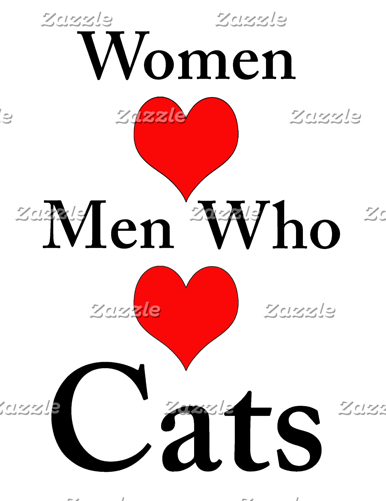 Women Love Men Who Love Cats