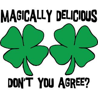 Irish - Magically Delicious Women's T-Shirt Gifts