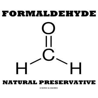 Formaldehyde Natural Preservative