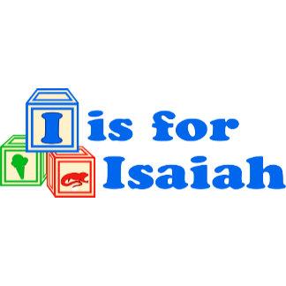 Baby Blocks Isaiah