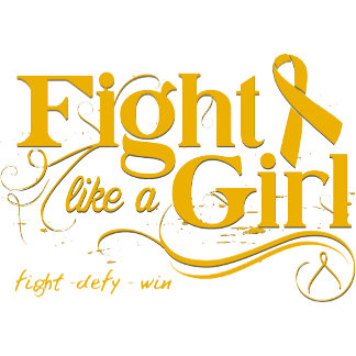 Appendix Cancer Fight Like A Girl Elegant