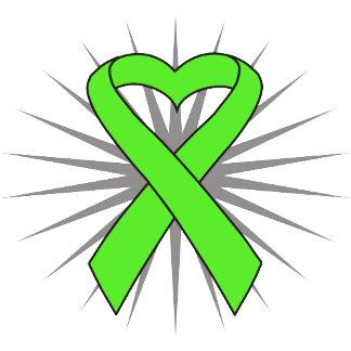 Lymphoma Heart Ribbon