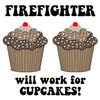 cupcakes firefighter