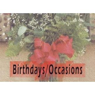 Birthdays/Occasions