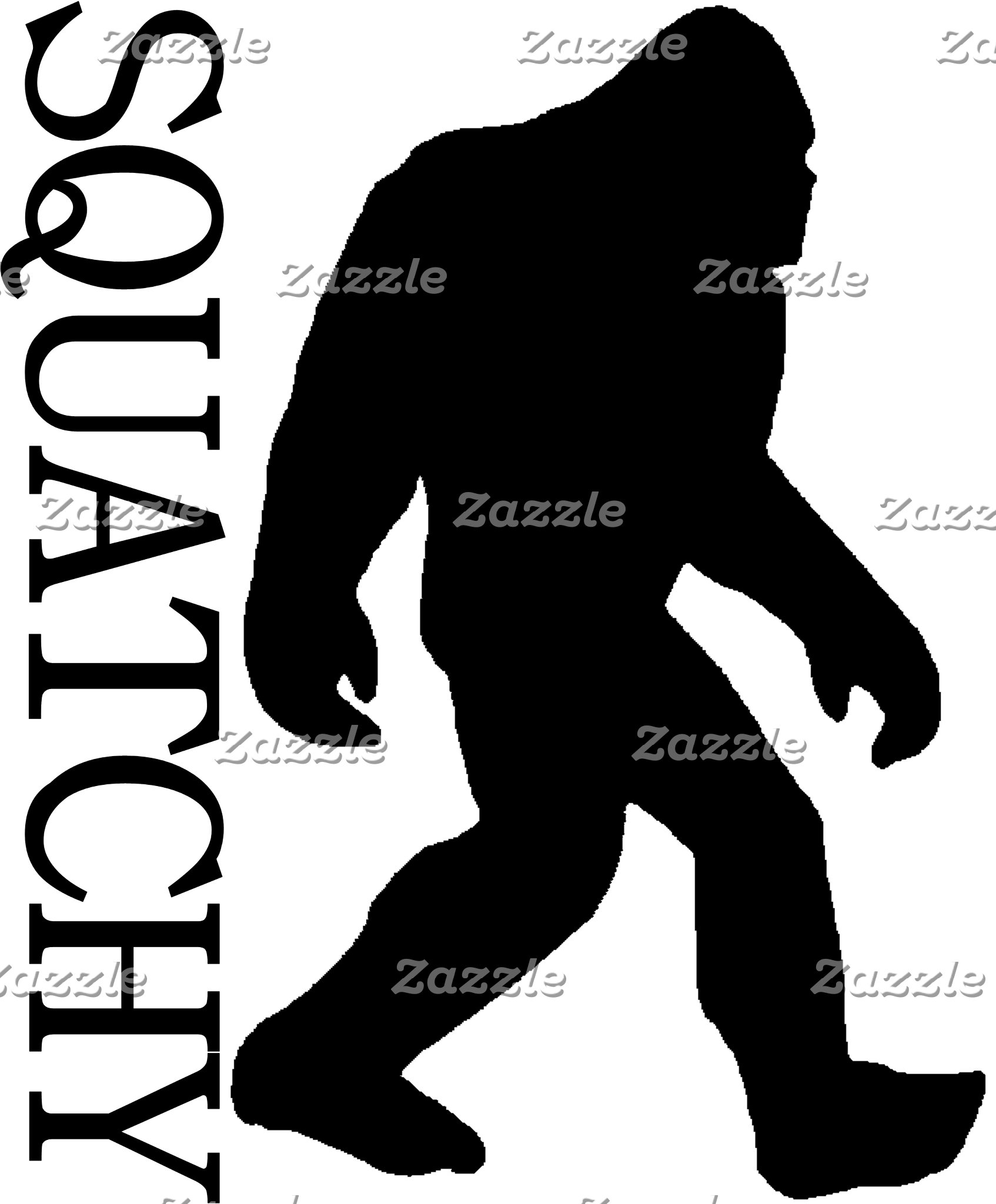 SQUATCHY SILHOUETTE