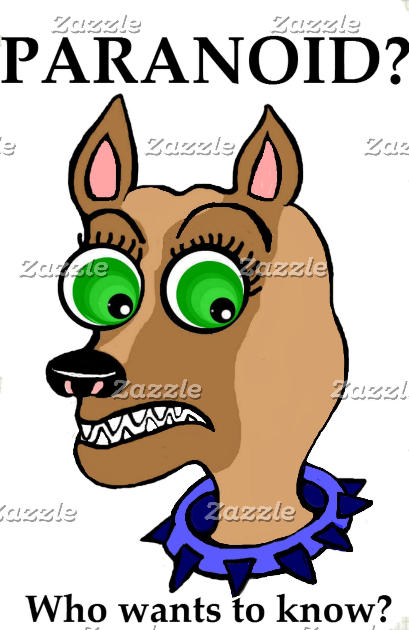 Chihuahua Dog Cartoon Head