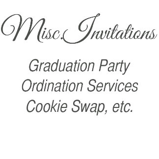 Misc Invites