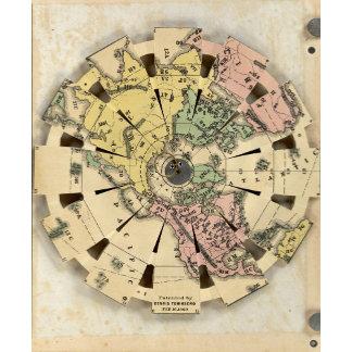 Index of Patent Folding Globe