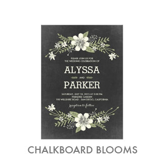 Chalkboard Blooms