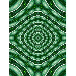 Alien Eggs Vortex Tornado - dark green